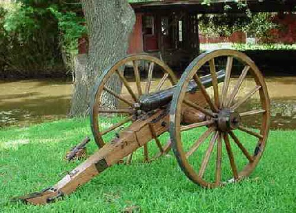 Charles Federies cannon with R & P Tradings cannon wheels