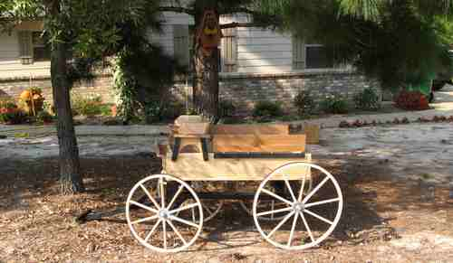 unfinished hitch wagon