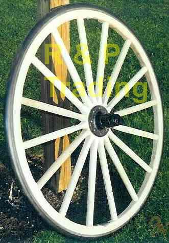 amish carriage wheel