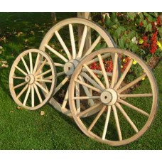 Wooden Cannon Wheels