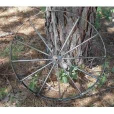 Larger steel wagon wheels