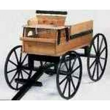 Wooden hitch wagon