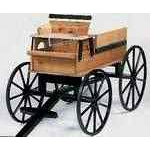 R & P Tradings Wooden Hitch Wagon